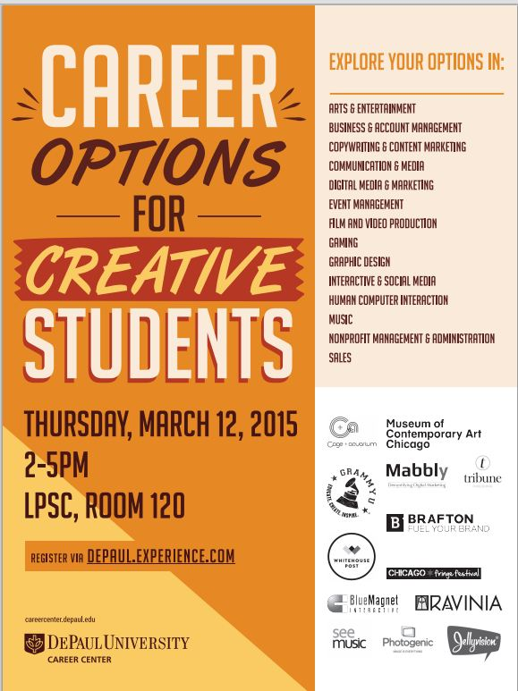 Career Options for Creative Students