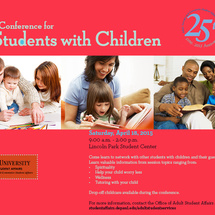 Conference with students with children