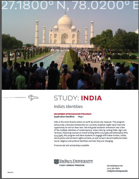 Study Abroad in India_May 2