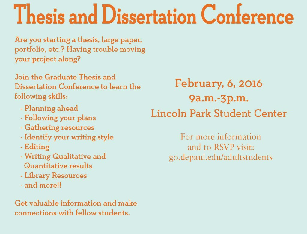 thesisdissertationconference2016