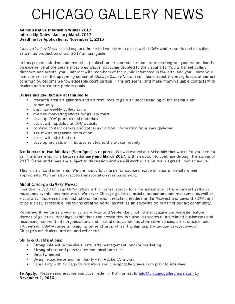 chicago-gallery-news-administrative-internship