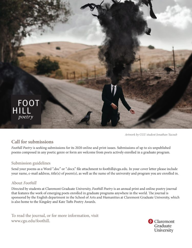 Call For Submissions Foothill Poetry Ex Libris